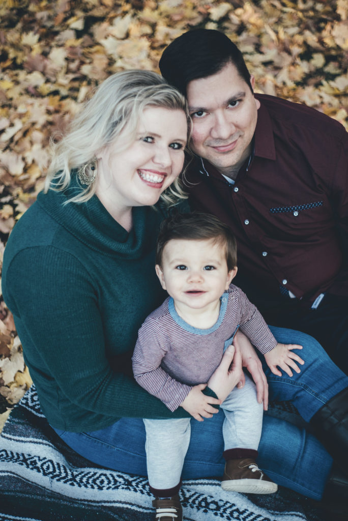 bright coral creative Family Portraits